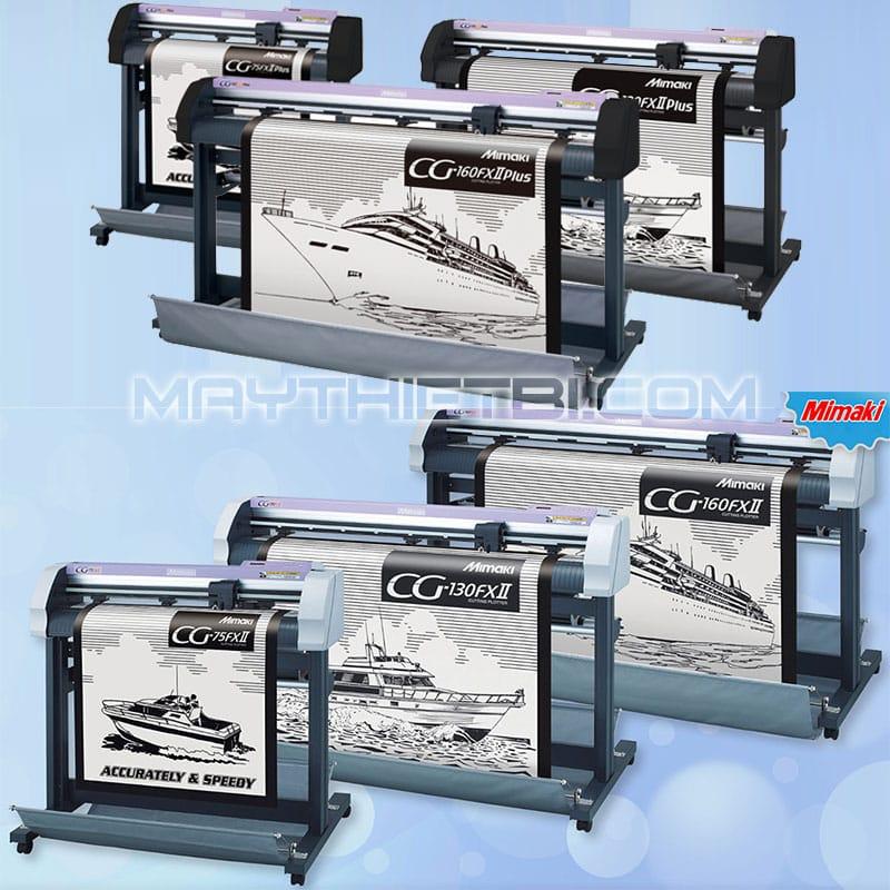 So sánh máy cắt decal Mimaki CG-FXII Plus và Mimaki CG-FXII