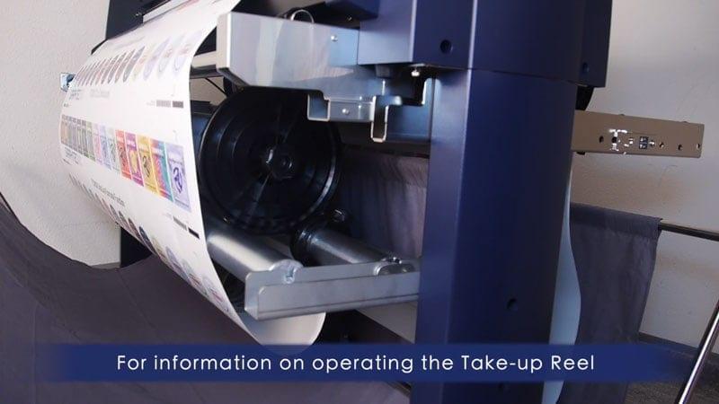Hướng dẫn lắp khóa định vị cắt dài (Take-Up Reel) máy cắt decal Graphtec FC9000