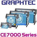 Máy cắt decal Graphtec CE7000 cắt nhanh hơn, dài hơn, đẹp hơn