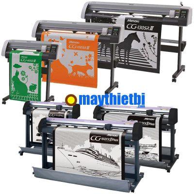 So sánh máy cắt decal Mimaki CG-FXII Plus với Mimaki CG-SRIII