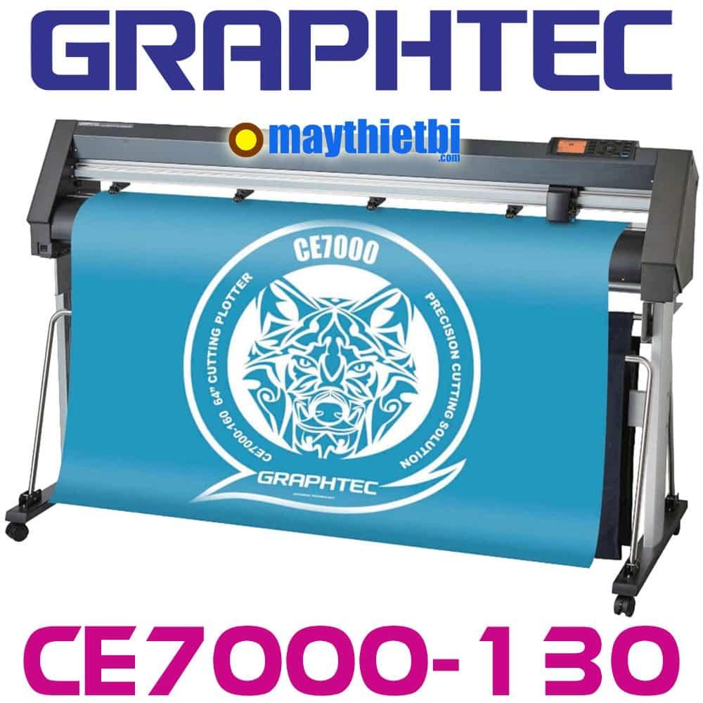 Máy cắt decal Graphtec CE7000-130 cắt dài không lệch, bế tem nhãn nhanh