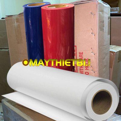 Decal chuyển nhiệt in áo đá bóng PVC HQ 0,51x50m giá rẻ, cắt chữ nhỏ đẹp
