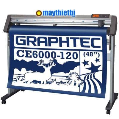Máy cắt bế decal khổ lớn giá rẻ, chính xác, cắt dài không lệch CE6000-120