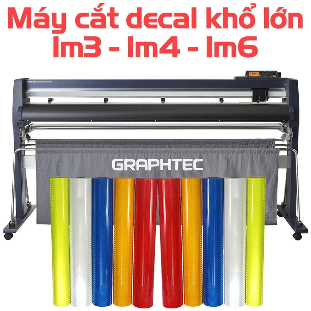 Máy cắt decal khổ 1m3, 1m4, 1m6 (130cm, 140cm, 160cm) giá tốt