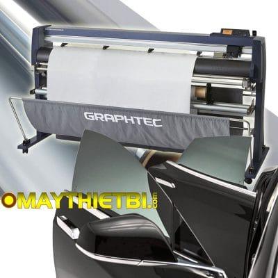 Cắt phim cách nhiệt chống nắng (window tint) với Máy cắt Graphtec FC9000