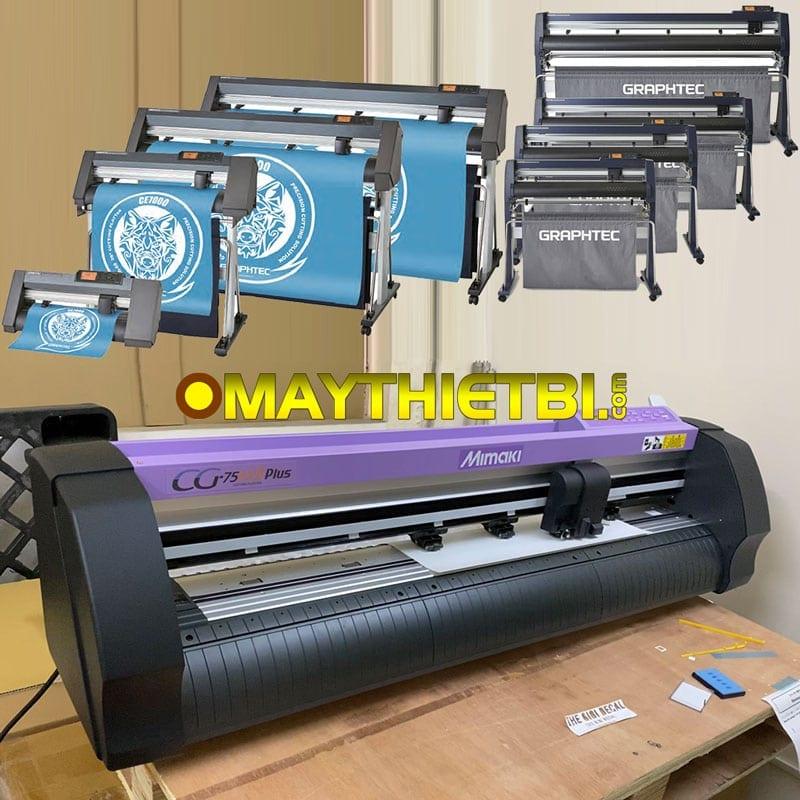 Máy cắt sticker label - Máy cắt bế tem nhãn chính xác, không lệch