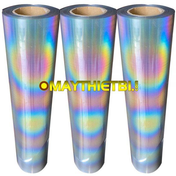 Decal phản quang 7 màu chuyển nhiệt in áo khổ 60cm x 50m giá rẻ