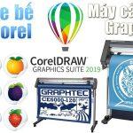 Cách tạo file bế trên CorelDraw cho máy cắt decal Graphtec CE6000, CE7000