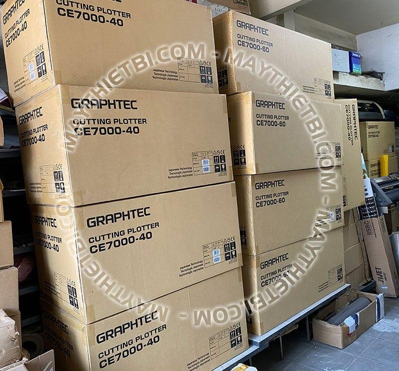 Lô hàng máy cắt decal Graphtec CE7000 đầu tiên về Việt Nam