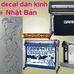 Máy cắt decal dán kính phun cát được ưa chuộng nhất 2019-2020