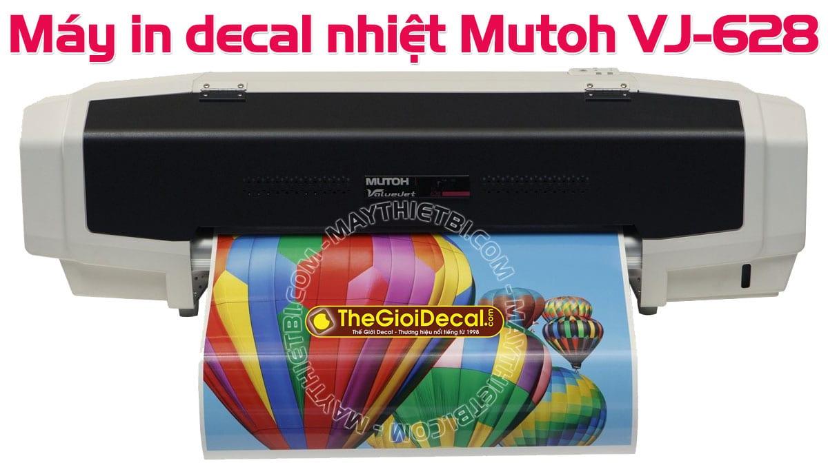 Máy in decal nhiệt in áo thun, in quần áo đá bóng HOT nhất 2019-2020