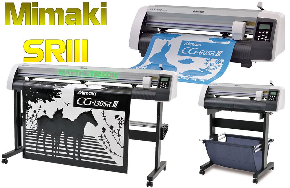 Mimaki CG-SRIII - Máy cắt decal giá tốt, cắt bế chính xác, dùng bền