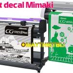 Máy cắt decal Mimaki – Chọn CG-SRIII hay CG-FXII Plus?