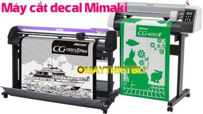 Máy cắt decal Mimaki - Chọn CG-SRIII hay CG-FXII Plus?