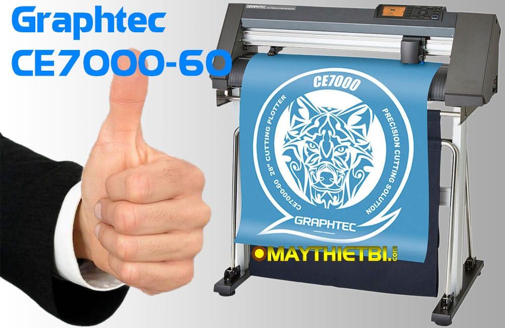 Máy cắt decal bán chạy nhất khổ 60 cho bế tem nhãn cuộn, tờ
