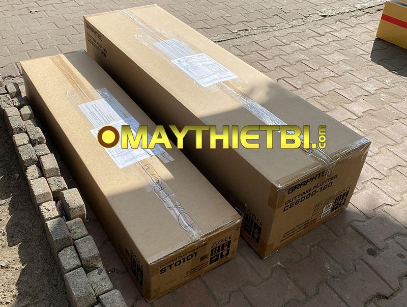 Máy cắt bế decal Graphtec CE6000-120 Plus được gửi cho khách tỉnh