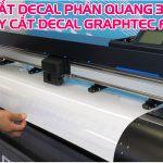 Máy cắt decal Graphtec FC9000 – Hướng dẫn cắt decal phản quang 3M 3900